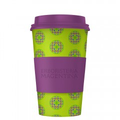"Mandala Cup - Limited Edition ""Verde - Viola"""