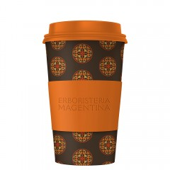 "Mandala Cup - Limited Edition ""Marrone-Arancione"""