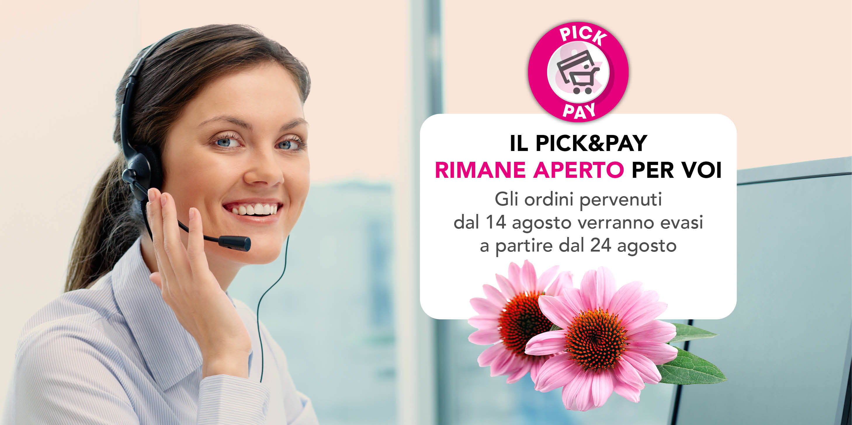 il pick and pay rimane aperto